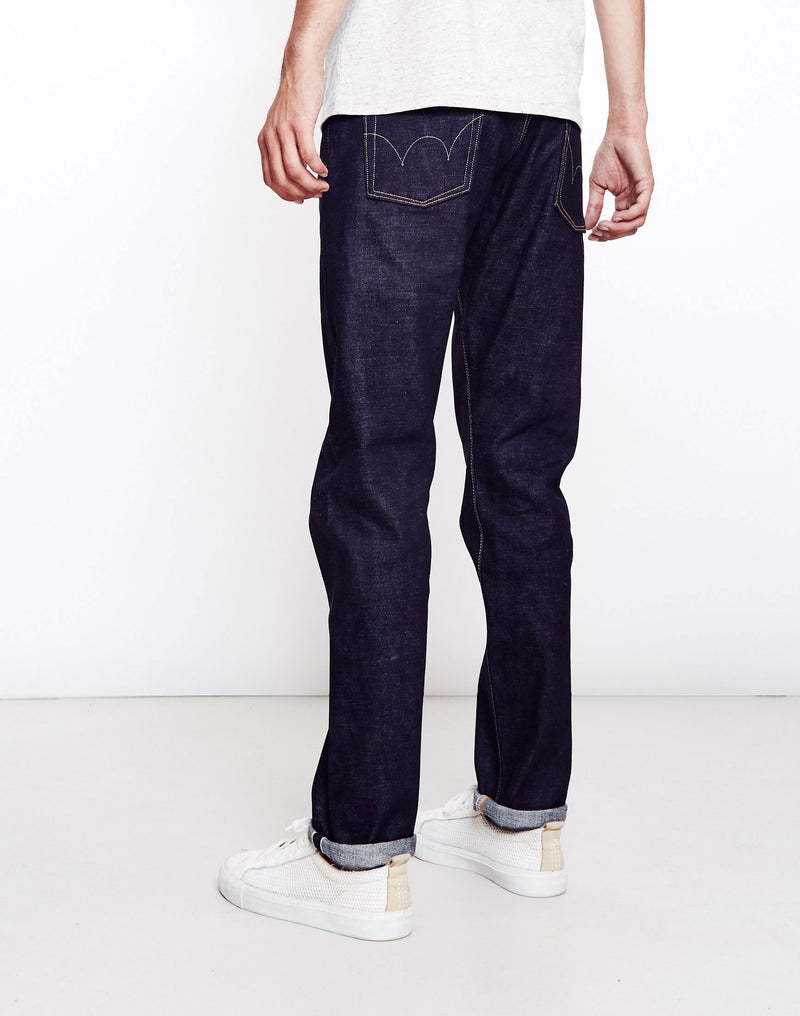 Edwin - Classic, Japanese Rainbow Selvage, Regular Tapered, Washed Jeans