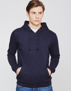 The Idle Man - Overhead Hoodie Navy