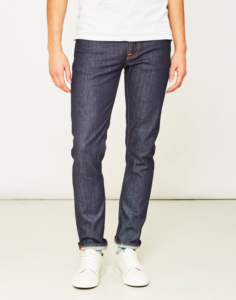 Nudie Jeans Co - Grim Tim Dry Open Navy Jeans
