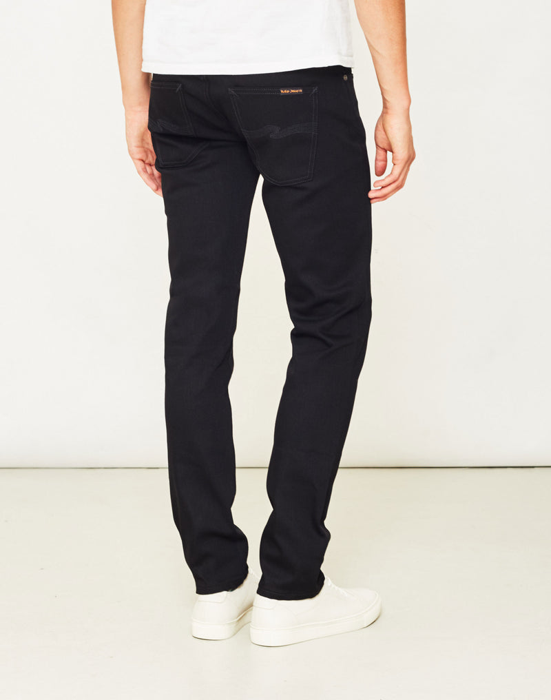 Nudie Jeans Co - Grim Tim Dry Cold Black Jeans