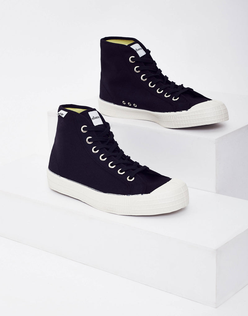 Novesta - Star Dribble Hi-Plimsoll Black