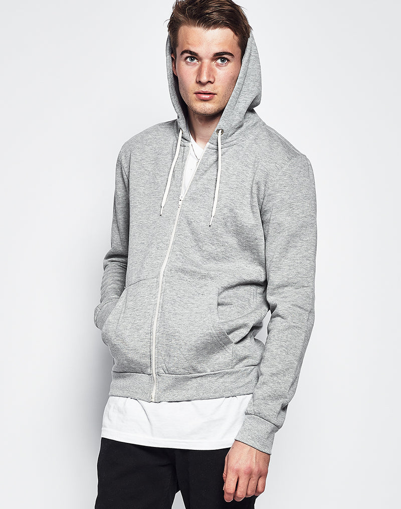 The Idle Man - Zip Through Hoodie
