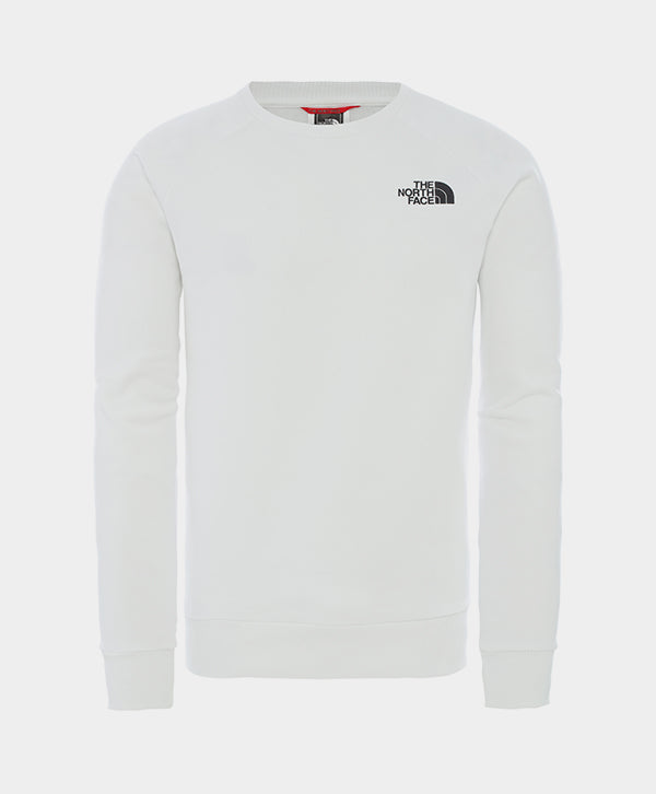 The North Face - Raglan Redbox Crew Sweatshirt White