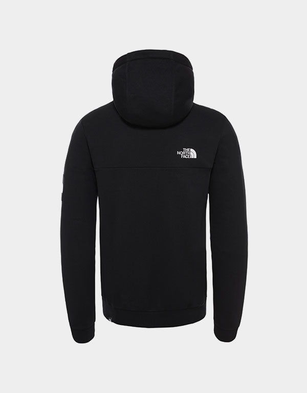 The North Face - Fine Alpine Hoodie Black & White Reflective