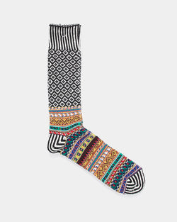 Anonymous Ism - Litanian Multi Crew Sock Black