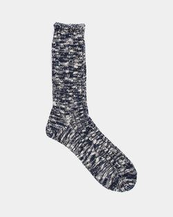 Anonymous Ism - Slub Crew Sock Navy