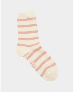 Armor Lux - Chaussettes Socks White and Pink