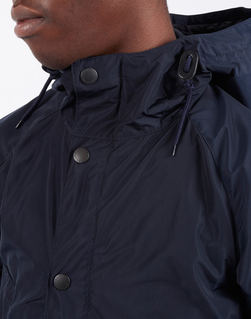 Barbour - Hooded Bedale Casual Navy