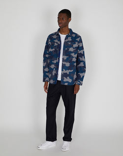 Barbour - Ocean Camo Overshirt Navy