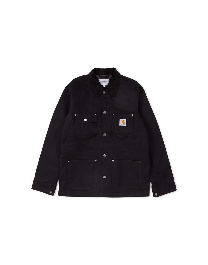 Carhartt WIP - Michigan Chore Coat Black (Lined)