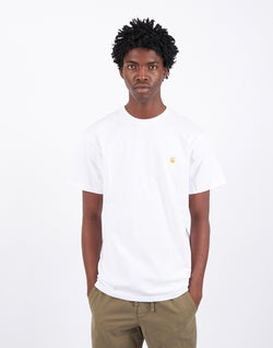 Carhartt WIP - Short Sleeve Chase T-Shirt White