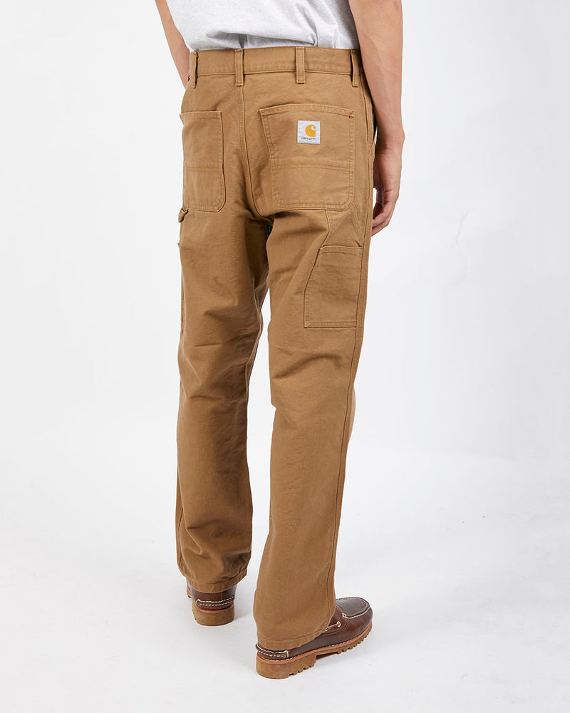 Carhartt WIP - Single Knee Carpenter Trousers Brown