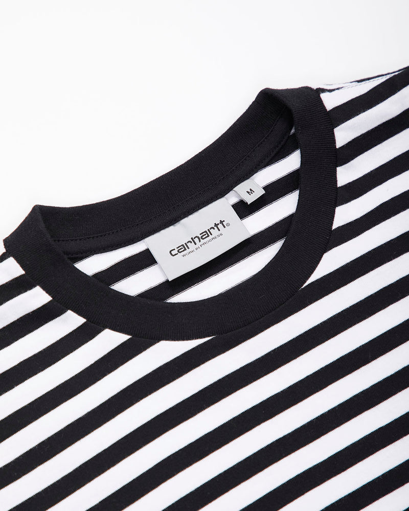 Carhartt Wip Haldon Pocket T Shirt Black