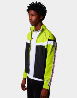 Champion - Peached Full Zip Jacket Green Black & White