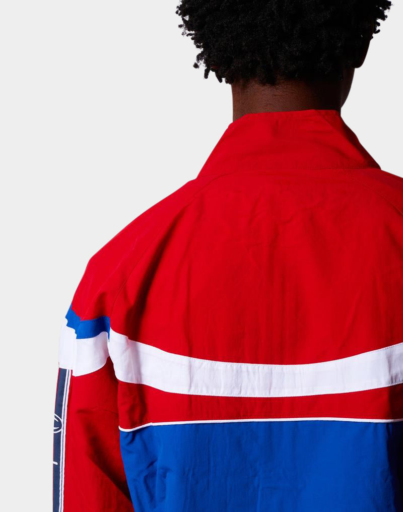 Champion - Peached Full Zip Jacket Red White & Blue
