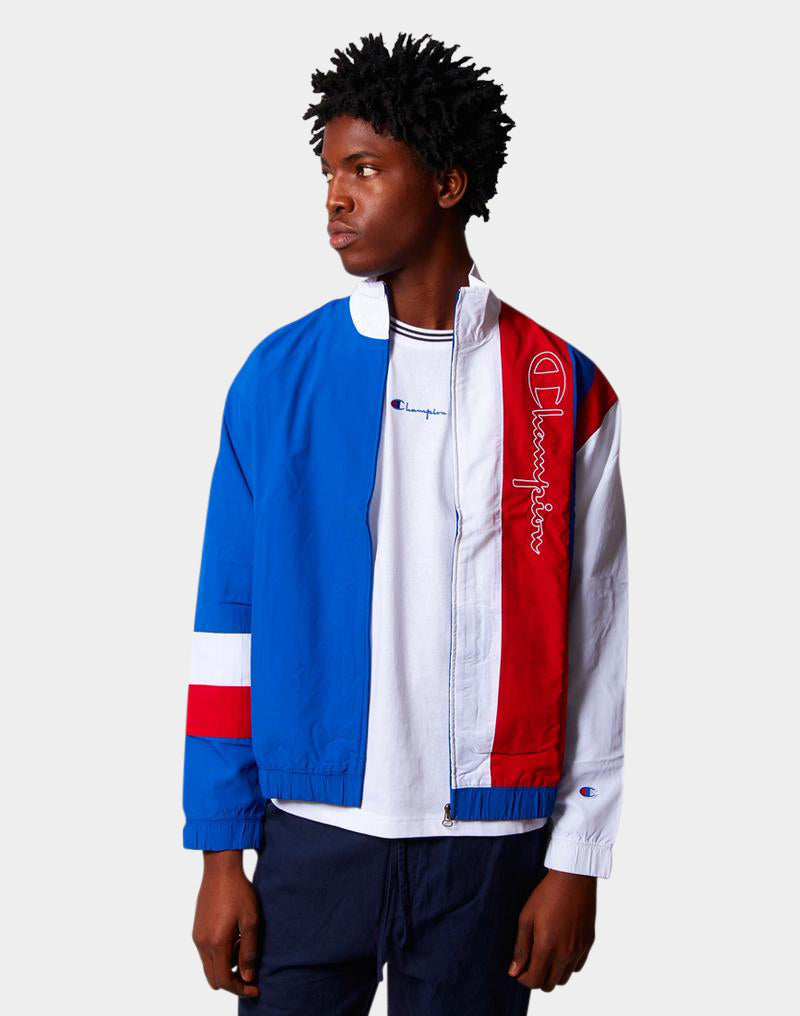 Champion - Peached Jacket White Blue & Red