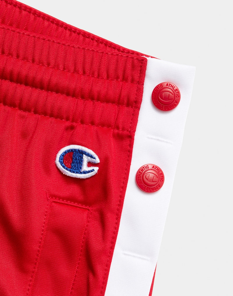 Champion - Popper Pants Red