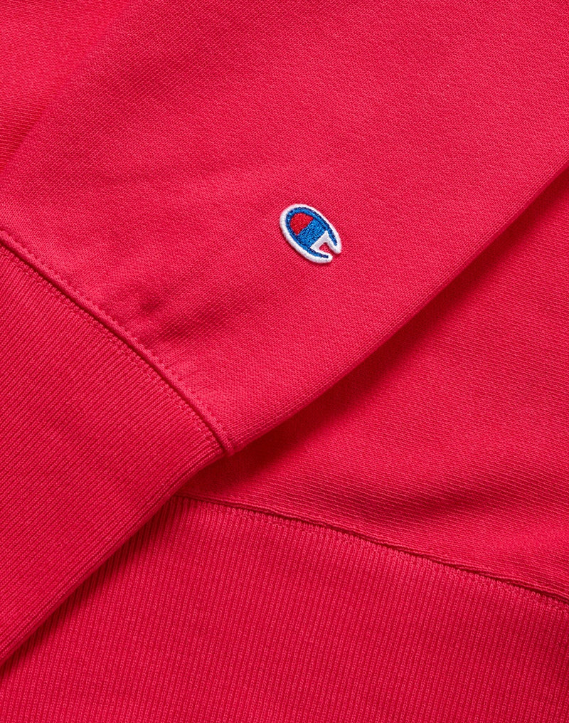Champion - Reverse Weave Brushed Fleece Sweatshirt Pink
