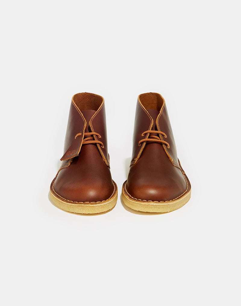 Clarks Originals - Leather Desert Boot Tan