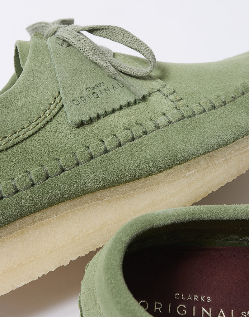 Clarks Originals - Weaver Cactus Green