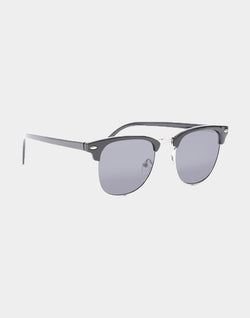 The Idle Man - Clubmaster Sunglasses Black