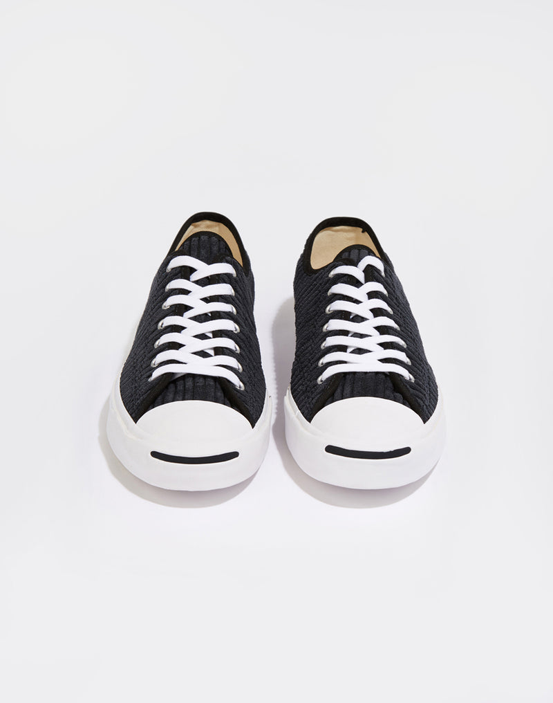 Converse - Jack Purcell Wide Wale Cord Black