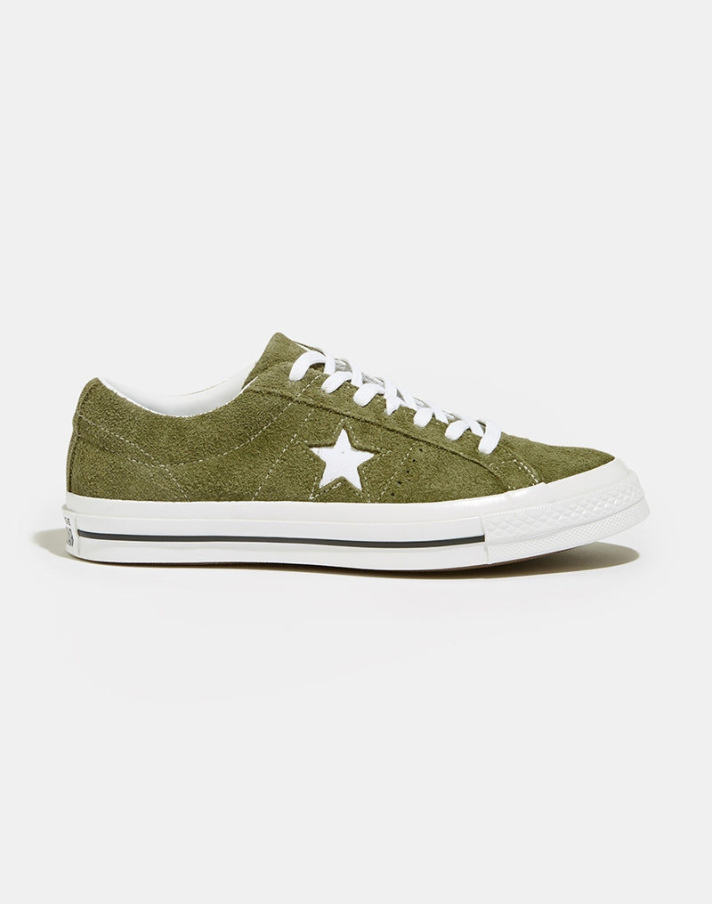 Converse - One Star Suede Ox Surplus Green