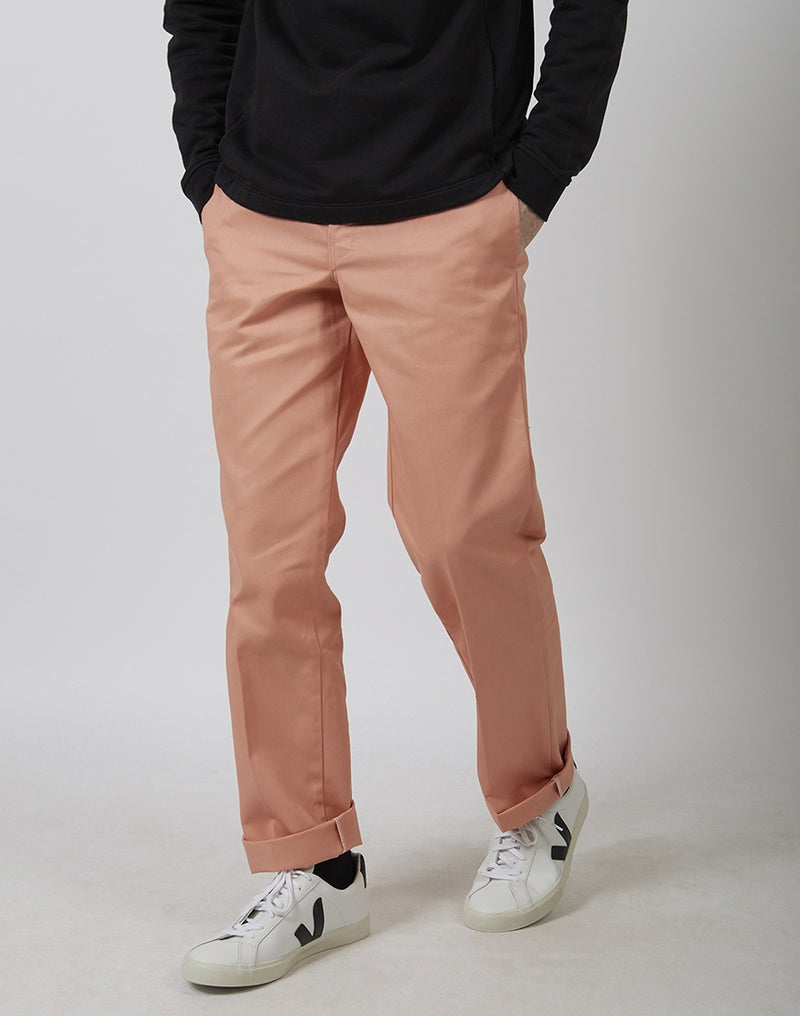 Dickies - Slim Straight Work Pant Flamingo Pink