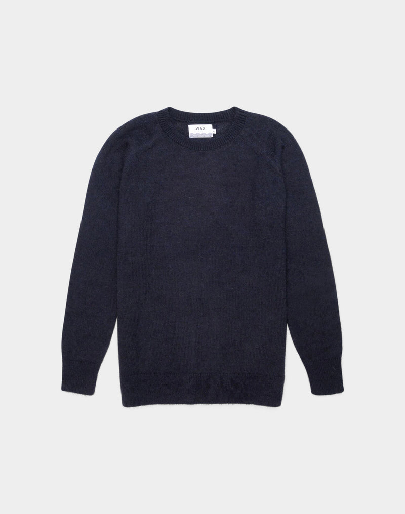 Wax London - Alp Knitted Jumper Navy