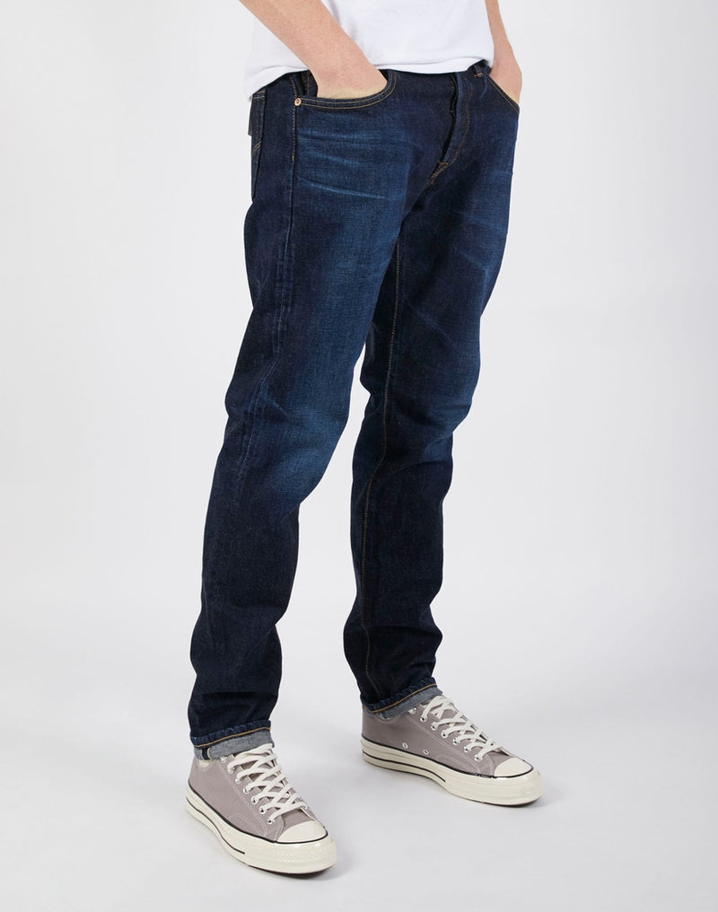 Edwin - Made in Japan Regular Tapered Jeans in Dark Used Wash