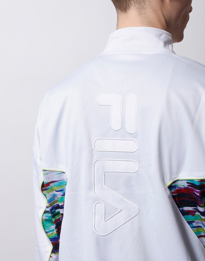FILA Black Line - Oil Slick Track Jacket White