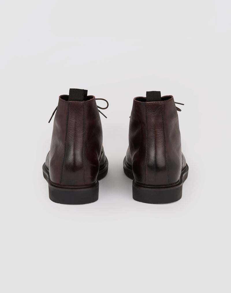 Hudson - Battle Boots Brown