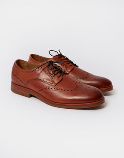 Hudson - Balleter Brogue Calf Tan