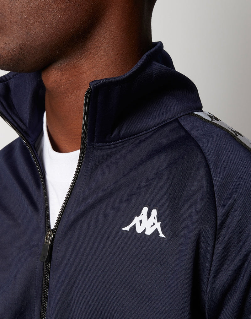 Kappa - Anniston Jacket Blue Black & White