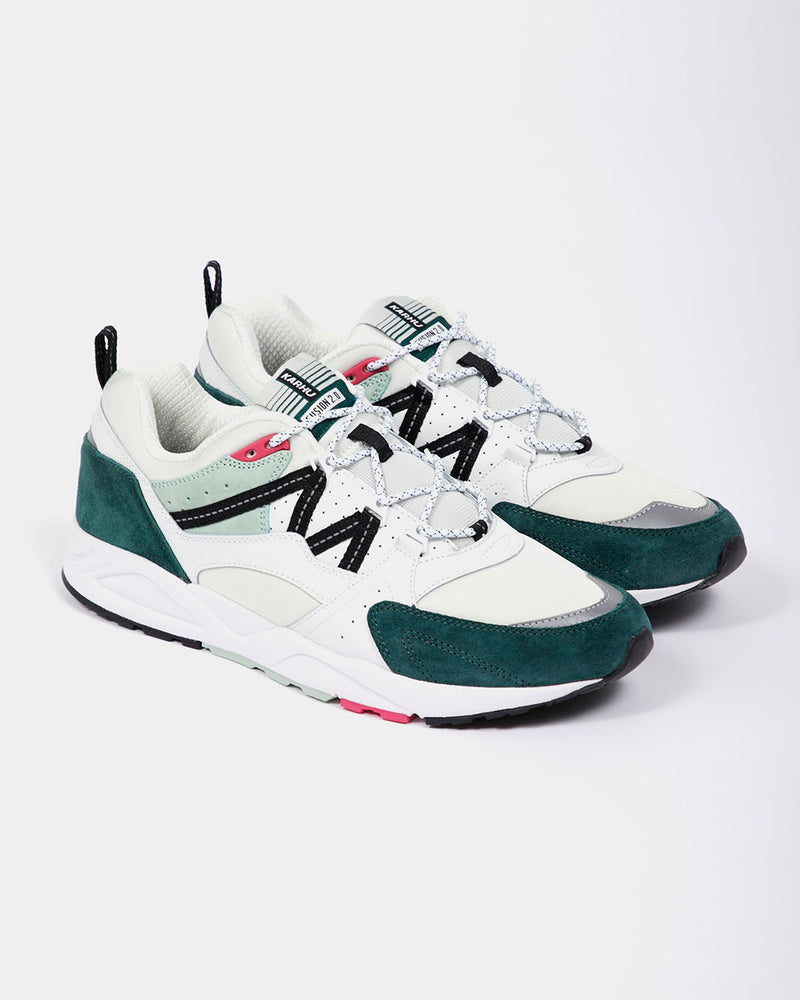 Karhu - Fusion 2.0 Trainers Bright White and Posy Green