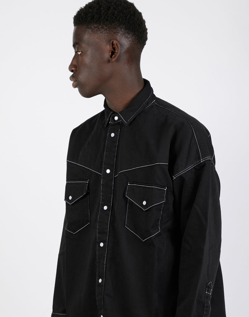 Levi's - Made & Crafted Oversized Western Jacket Black
