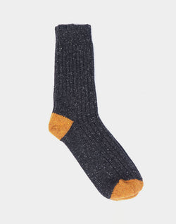 Barbour - Houghton Sock Charcoal Grey