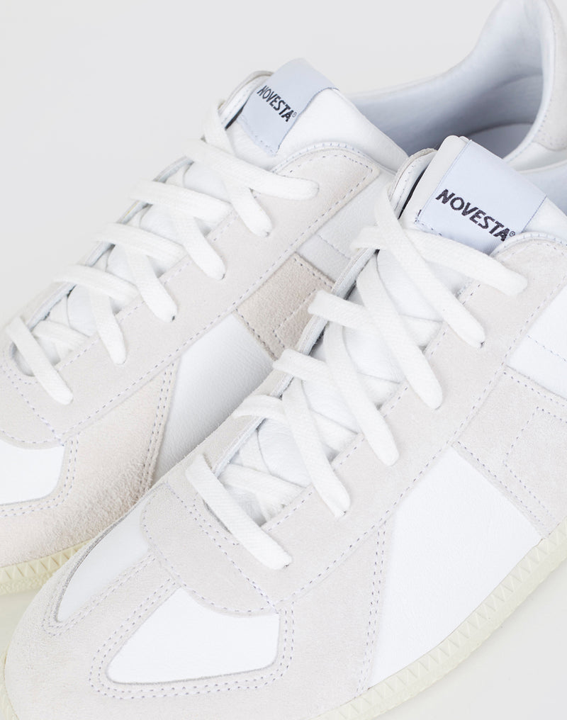 Novesta - German Army Trainers White & Beige
