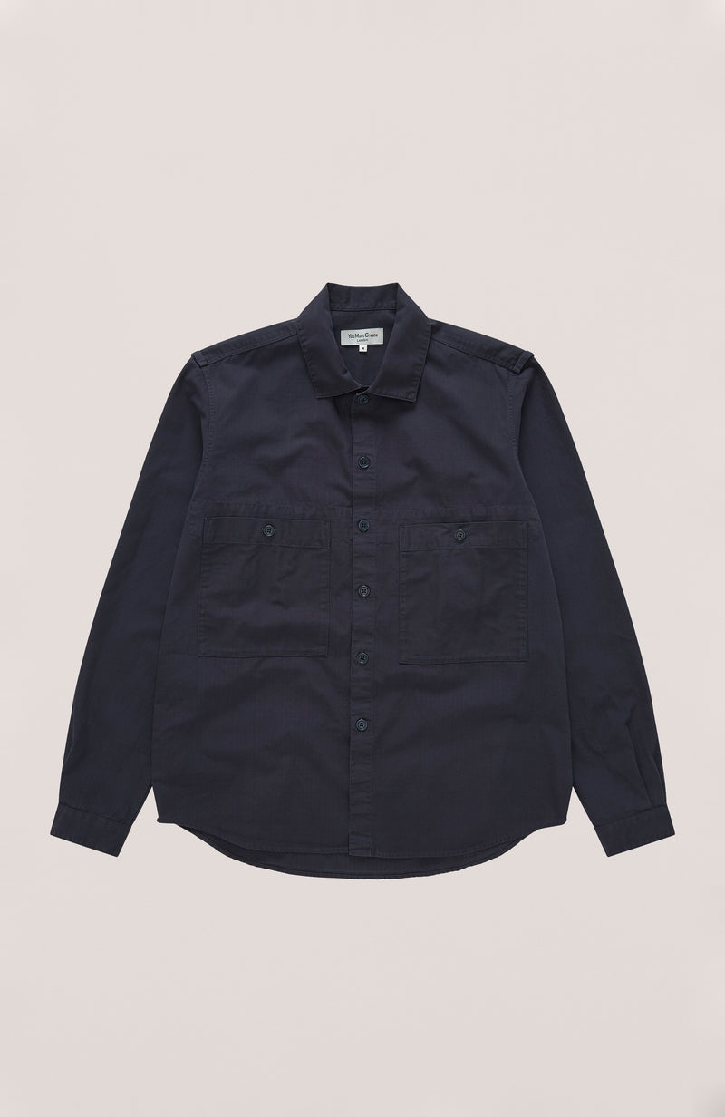 YMC - Doc Savage Shirt Overshirt Navy