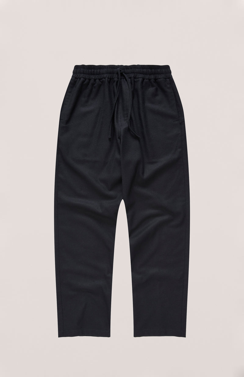 YMC - Alva Skate Trousers in Wool Flannel Navy