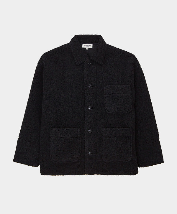 YMC - Cubist Chore Fleece Jacket Black