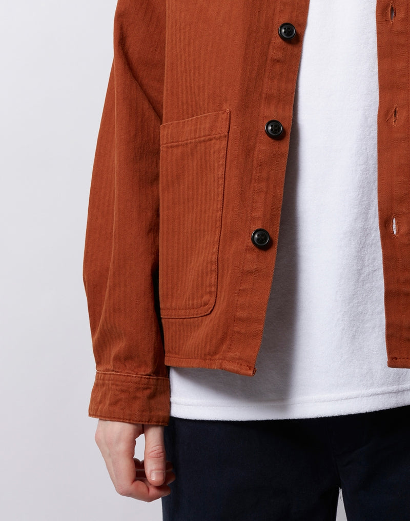 The Idle Man - Chore Jacket Tan