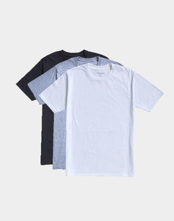 The Idle Man - Premium Classic T-shirt 3 Pack Mixed