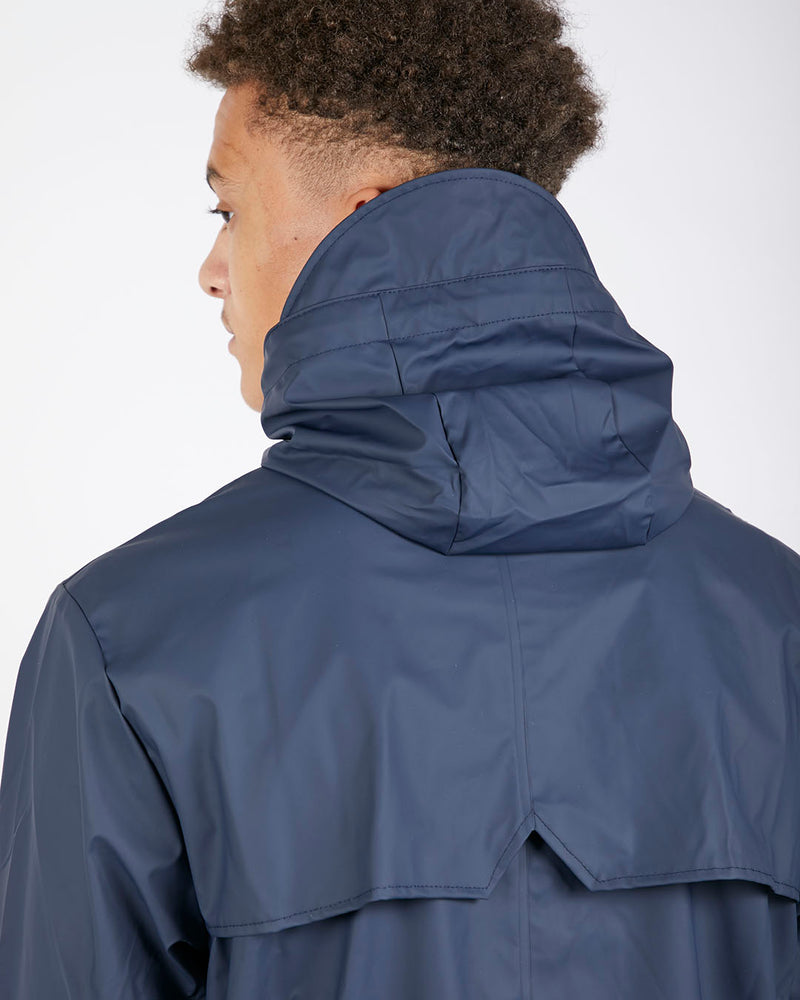 Rains - Fishtail Parka Blue