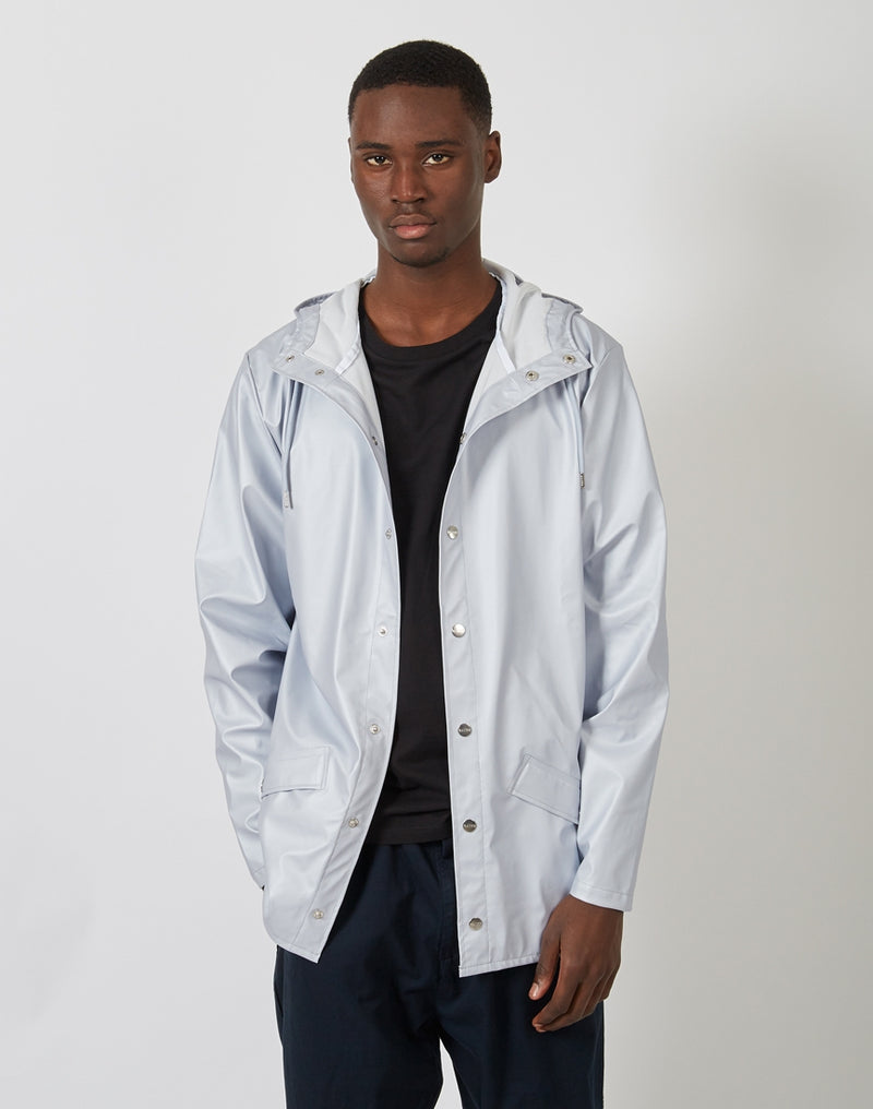 Rains - Jacket Metallic Ice Grey