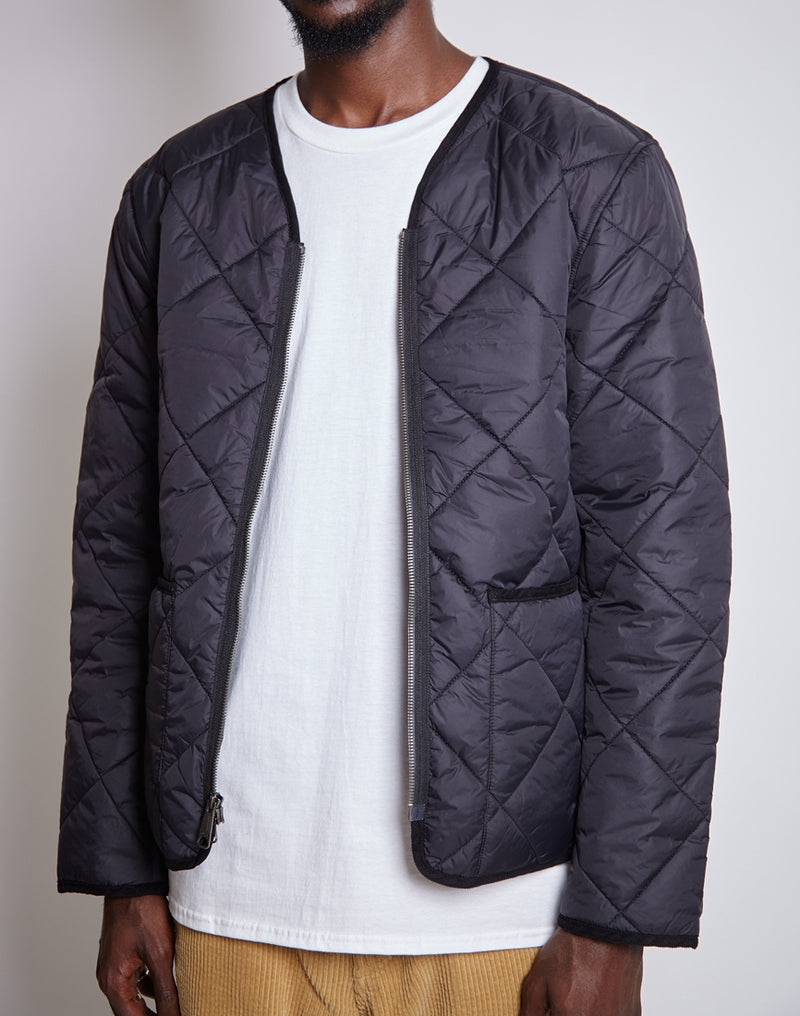 Saturdays NYC - Saul Double Breasted Top Coat Black