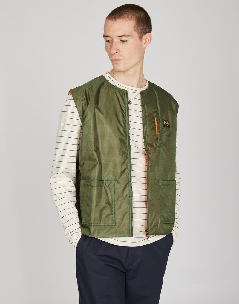 Stan Ray - Liner Vest Green