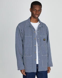 Stan Ray - Shop Jacket with Quilted Lining Blue