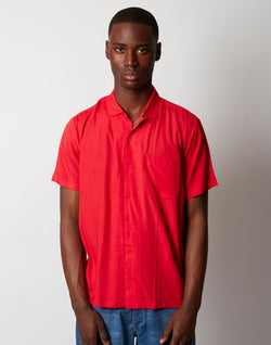 Stan Ray - Solidstate Vacay Short Sleeve Shirt Red