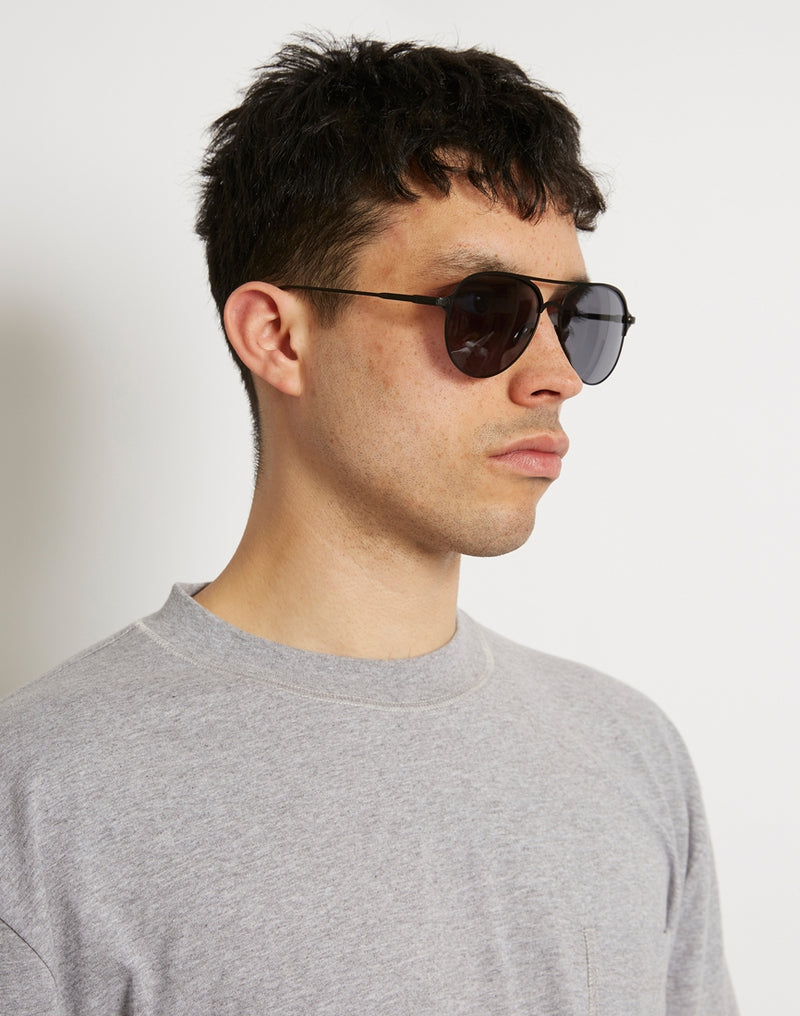 The Idle Man - Classic Aviator Black